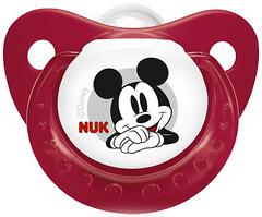 Фото NUK Пустышка силиконовая Trendline Disney Mickey (размер 2)