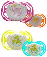 Baby Team Пустышка силиконовая ортодонтическая 1 шт. (3011)