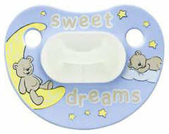 Bibi Пустышка силиконовая ночная Sweet Dreams 12-36 мес.