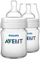 Фото Philips Бутылочка для кормления Avent Classic+ 125 мл 2 шт. (SCF560/27)