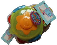 Nuby Тарелка для СВЧ-печи на присоске с крышкой Улет (5322)