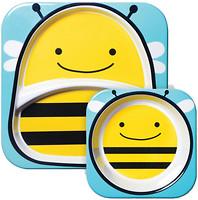 Фото Skip Hop Набор тарелок Zoo Пчелка 2 шт. (252204)