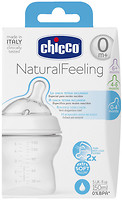 Chicco Бутылочка пластик Natural Feeling 150 мл от 0 мес. (80711.00)