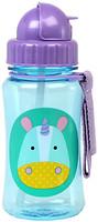 Skip Hop Straw Bottle Поильник Zoo Единорог 350 мл (252332)