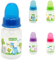 Фото Baby Team Бутылочка с силиконовой соской 125 мл (1110)
