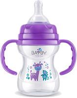 Bayby Бутылочка для кормления с ручками 150 мл (BFB 6105)