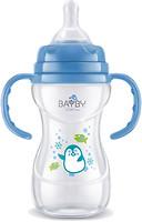 Bayby Бутылочка для кормления с ручками 240 мл (BFB 6106)
