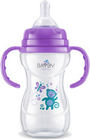Bayby Бутылочка для кормления с ручками 240 мл (BFB 6107)