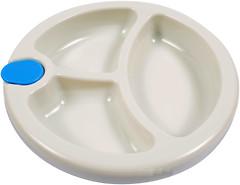 Lindo Тарелка секционная на присоске Premium (А 51)
