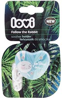 Canpol babies Держатель для пустышки Lovi Follow the Rabbit (10/884)