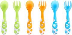 Фото Munchkin Набор ложек и вилок Multi Forks and Spoons 6 шт. (011454)