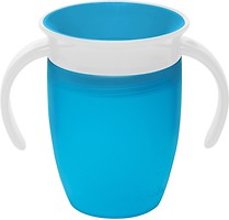 Munchkin Чашка-непроливайка с ручками Miracle 360 207 мл (01209401)