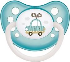 Фото Canpol babies Пустышка силиконовая анатомическая Toys 18+ мес. (23/258)