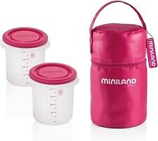 Фото Miniland Термосумка с контейнерами Pack-2-Go (89141)