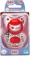 Bibi Пустышка силиконовая Happiness Dental Duo Premium 6-16 мес. 2 шт.