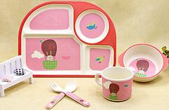Eco Набор детской посуды Rabbit Aeronaut (44389)