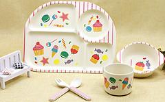 Eco Набор детской посуды Sweets (44390)