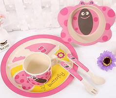 Eco Набор детской посуды Butterfly (44965)
