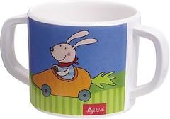 Sigikid Меламиновая чашка Racing Rabbit 200 мл (24613)