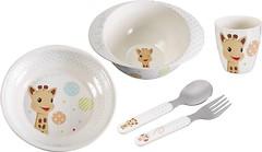Фото Vulli Sophie la girafe Набор детской посуды (470006)