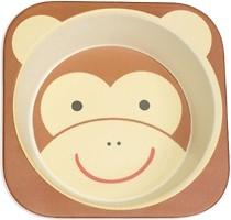 Фото Eco Тарелка из бамбукового волокна Monkey (46652)