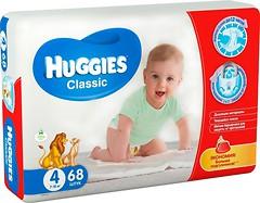 Huggies Classic 4 (7-18 кг) 68 шт