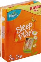 Pampers Sleep&Play Midi 3 (78 шт)