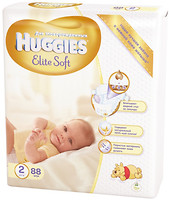 Huggies Elite Soft 2 (88 шт)