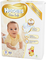 Huggies Elite Soft 3 (80 шт)