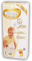 Фото Huggies Elite Soft 5 (56 шт)