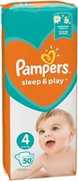 Pampers Sleep&Play Maxi 4 (7-14 кг) 50 шт
