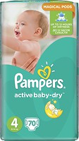 Фото Pampers Active Baby-Dry Maxi 4 (70 шт)
