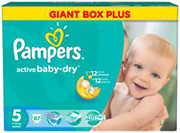 Pampers Active Baby-Dry Junior 5 (87 шт)