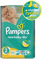 Фото Pampers New Baby-Dry Mini 2 (68 шт)