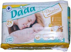 Dada Premium 1 (2-5 кг) 28 шт