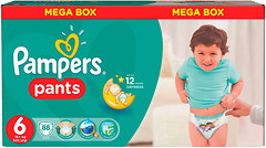 Pampers Pants Extra Large 6 (88 шт)