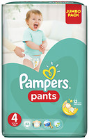 Фото Pampers Pants Maxi 4 (52 шт)
