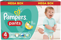Фото Pampers Pants Maxi 4 (104 шт)
