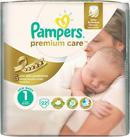 Pampers Premium Care Newborn 1 (22 шт)