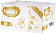 Huggies Elite Soft 3 (160 шт)