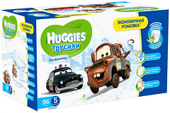 Huggies Трусики-подгузники для мальчиков 5 (96 шт)