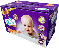 Фото Dada Premium 3 (4-9 кг) 120 шт