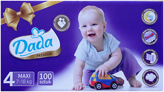 Dada Premium 4 (7-18 кг) 100 шт