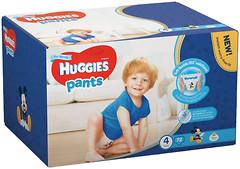 Huggies Pants 4 для мальчиков (72 шт)
