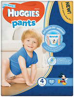 Фото Huggies Pants 4 для мальчиков (52 шт)