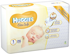 Huggies Elite Soft 1 (26 шт)