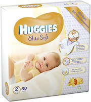 Huggies Elite Soft 2 (80 шт)