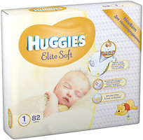 Фото Huggies Elite Soft 1 (82 шт)