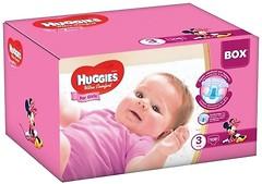 Фото Huggies Ultra Comfort 3 для девочек (108 шт)