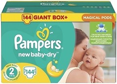 Фото Pampers New Baby-Dry Mini 2 (144 шт)